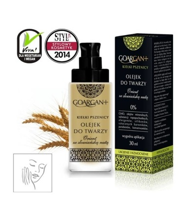 Nova Cosmetics Facial Oil for Vascular Skin GoArgan+ Wheat Sprouts 30ml