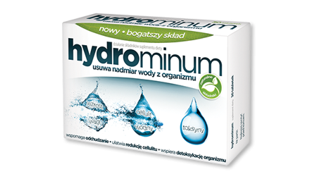 Aflofarm Hydrominum Facilitates Body Slimming 30pcs.