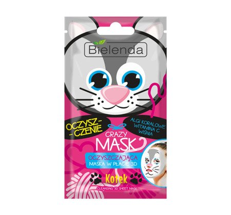 Bielenda Cleansing Face Mask Kitten 1pc