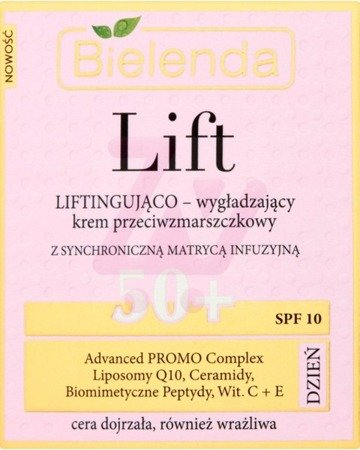 Bielenda Lift Lifting Smoothing Anti-wrinkle Day Cream 50+ 50ml