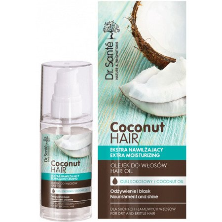 Elfa Pharm Dr. Sante Coconut Hair Extra Moisturizing Hair Oil 50ml