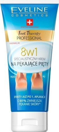 Eveline Foot Therapy 8in1 Specialist Foot Cream Cracking Heels 100ml