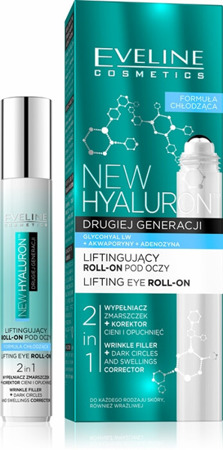 Eveline New Hyaluron Expert Lifting Roll-on Under Eyes 2in1 15ml