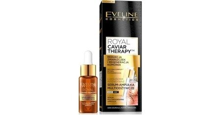 Eveline ROYAL CAVIAR THERAPY Luxurious Multi-nourishing Serum-ampoule 18ml