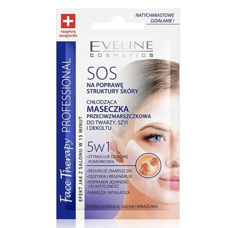 Eveline SOS Cooling Anti-wrinkle Mask 5in1 7ml