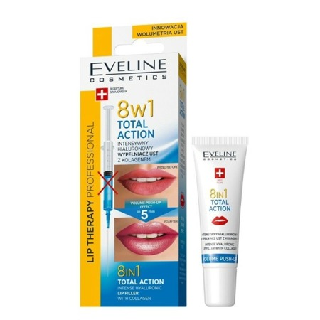 Eveline TOTAL ACTION Intensive Lip Plumper 8in1 12ml