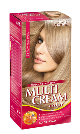 Joanna Multi Cream Color Dye Platinum Blond /32/