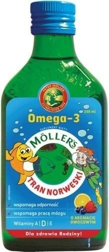 Oil mollers fish Norwegian Fish