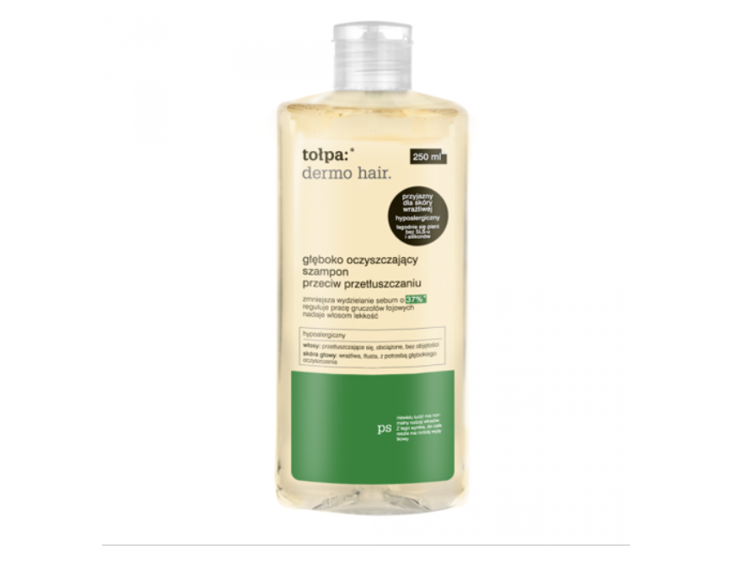 Tołpa Deep Cleansing Shampoo Against Greasy Hair