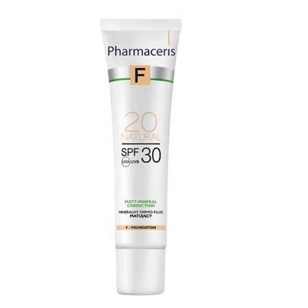 Pharmaceris Mineral Matte Dermo-Fluid SPF30 Natural 20 30 ml