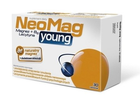 Aflofarm NeoMag Young  Vitamins and Minerals 30tabs.