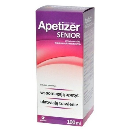 Apetizer Senior Raspberry- Currant Syrup 100ml