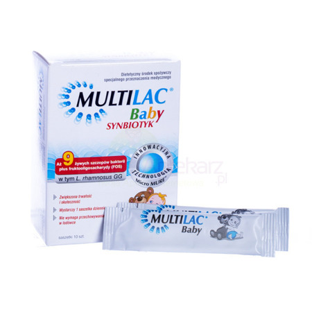 BABY MULTILAC 10 Pieces. Probiotic for children with antibiotics, diarrhea