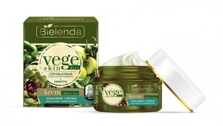 Bielenda Bielenda Vege Skin Diet Moisturizing + Detox Face Cream For Dry And Sensitive Skin 50ml