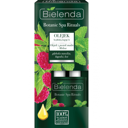 Bielenda Botanic Spa Rituals Moisturizing Serum Raspberry Seed Oil Melissa 15ml