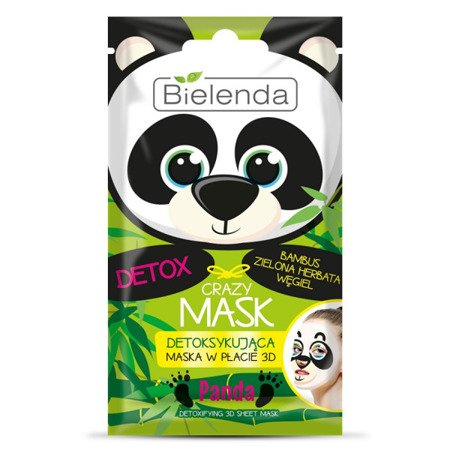 Bielenda Detoxifying Face Mask Panda 1pc