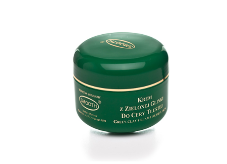 Cream with green clay for oily skin 30ml
