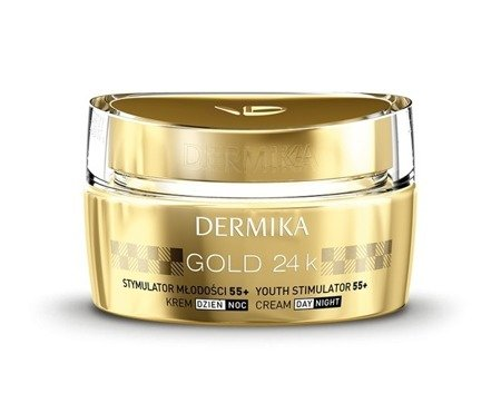 Dermika Gold 24K Youth Elixir 55+ Luxurious Day/Night Cream 50ml