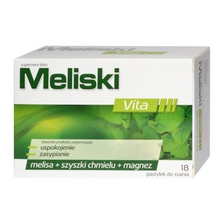 Dietary Supplement Meliski 18 Lozenges