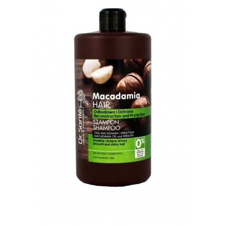 Dr. Santé Shampoo with Macadamia Oil and Keratin Protective Rebuilding 1000 ml