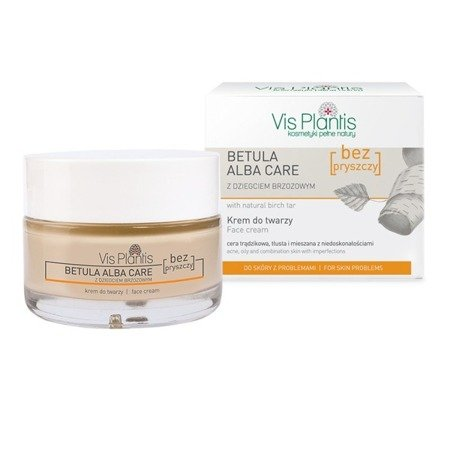 Elfa Pharm Vis Plantis Betula Alba Care Regenerating cream with natural birch tar 50ml