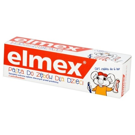 Elmex Toothpaste for Children 1-6 Years Old Protects Milk Teeth from Caries 50ml