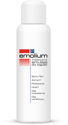 Emolium R Tri-Active Bath Emulsion Irritated and Dry Skin 200ml