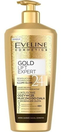 Eveline Luxury Caviar Body Lotion with 24 K Gold Dust 350ml