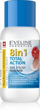 Eveline TOTAL ACTION 8in1 Express Nail Polish Remover 150ml