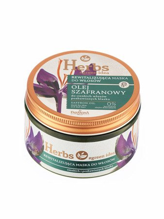 Farmona Saffon Oil Mask For Thin And Dull Hair 250ml