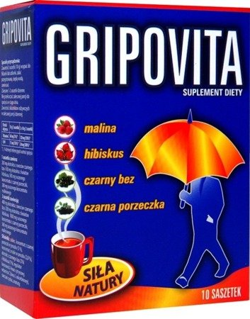 Gripovita Tea for Adults 10 Sachets
