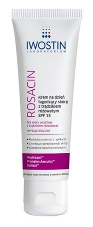 Iwostin Rosacin Soothing Day Cream for Rosacea Skin SPF15 40ml