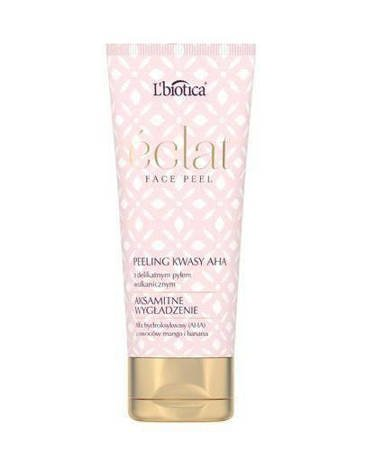 L'Biotica Eclat Face Peel Facial Peeling Velvety Smoothing 50 ml