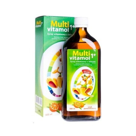 Multivitamol 1+ SYRUP 500ML body tonic for children