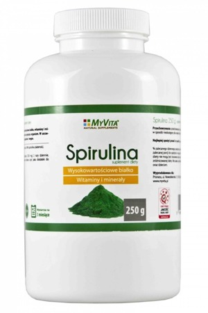 MyVita Spiruina in Powder 100% Natural 250g