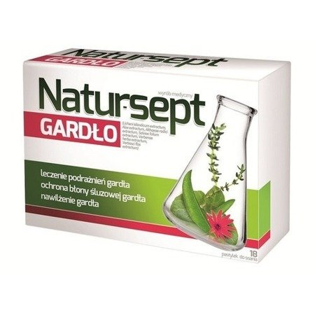 Natursept Throat 18 Lozenges