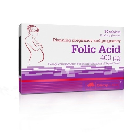 Olimp Folic Acid 400 µg Dietary Supplement 30caps