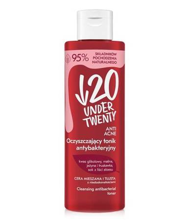 Under Twenty Cleansing Antibacterial Tonic Vegan 200ml
