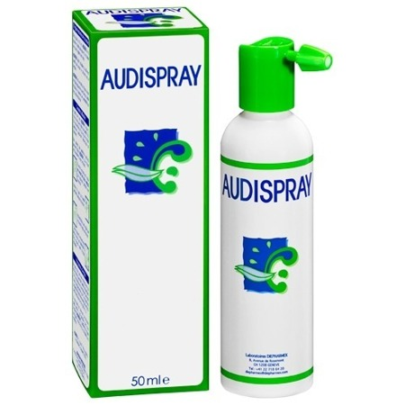 Audispray Adult Naturalna Higiena Uszu 50 ml