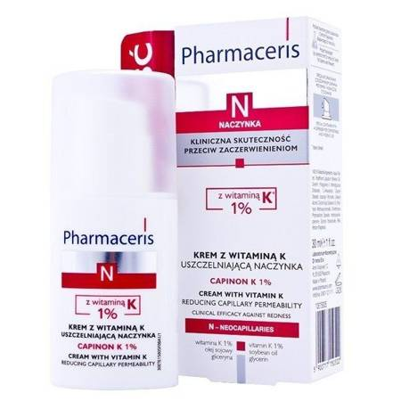 Pharmaceris N Krem z Witaminą K 30 ml